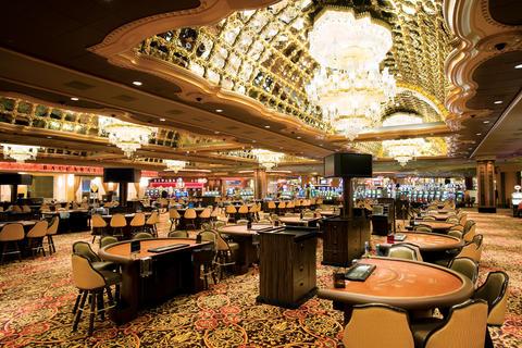 Image - Trump Taj Casino in Atlantic City, Friday Night