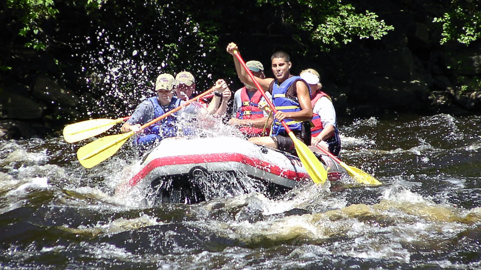 Image - White Water Raft in the Poconos