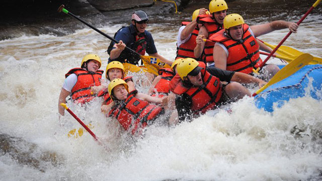 Image - White Water Raft Down the Lehigh River in the Poconos