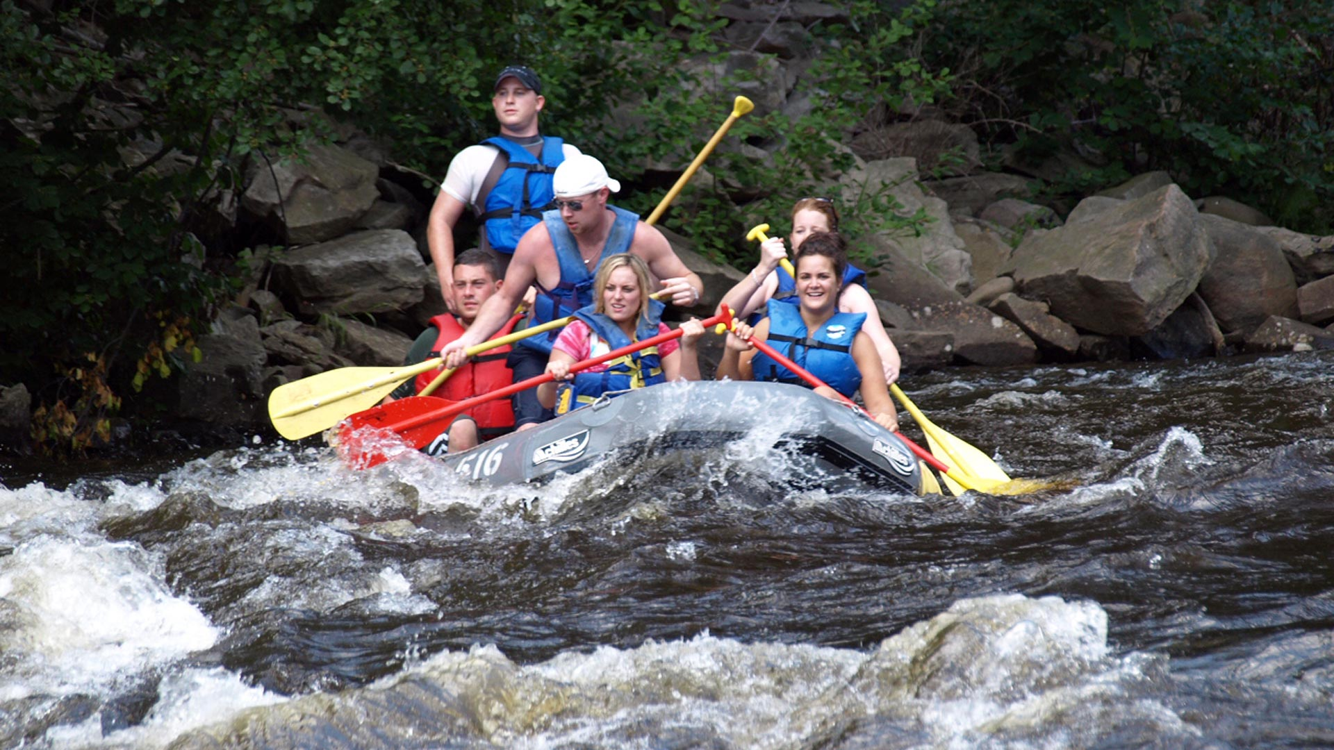 Urban Sherpa - White Water Rafting,